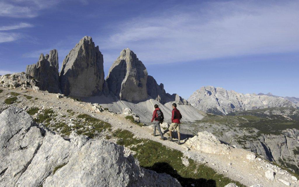 Wanderer Sextner Dolomiten