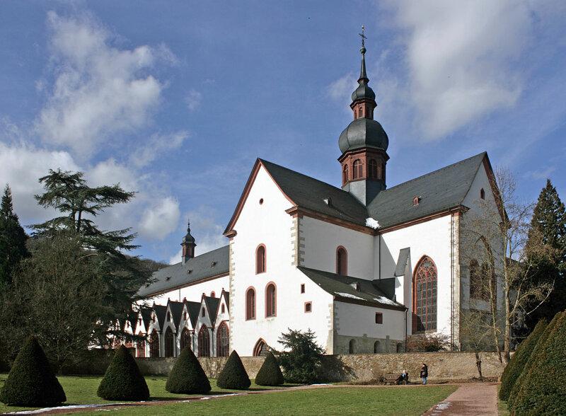 Kloster Eberbach in Eltville Außenansicht