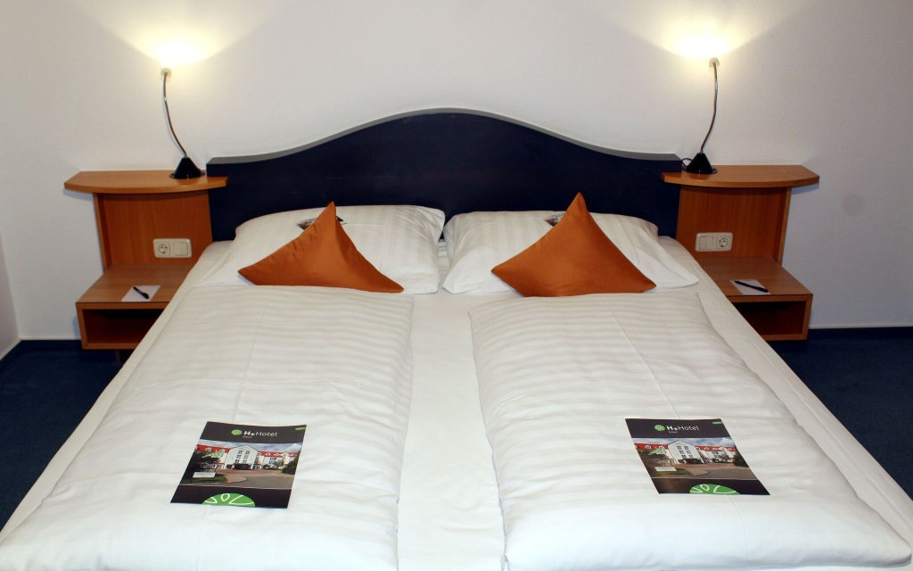 H+ Hotel Erfurt Zimmer Doppelzimmer