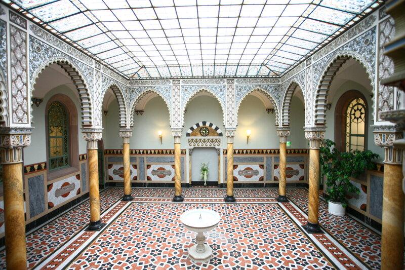 Maurische Halle im Palais Thermal