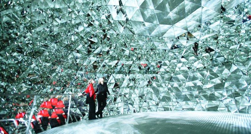 Kristalldom in den Swarovski Kristallwelten Wattens