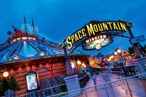 Space Mountain ©Disneyland Paris