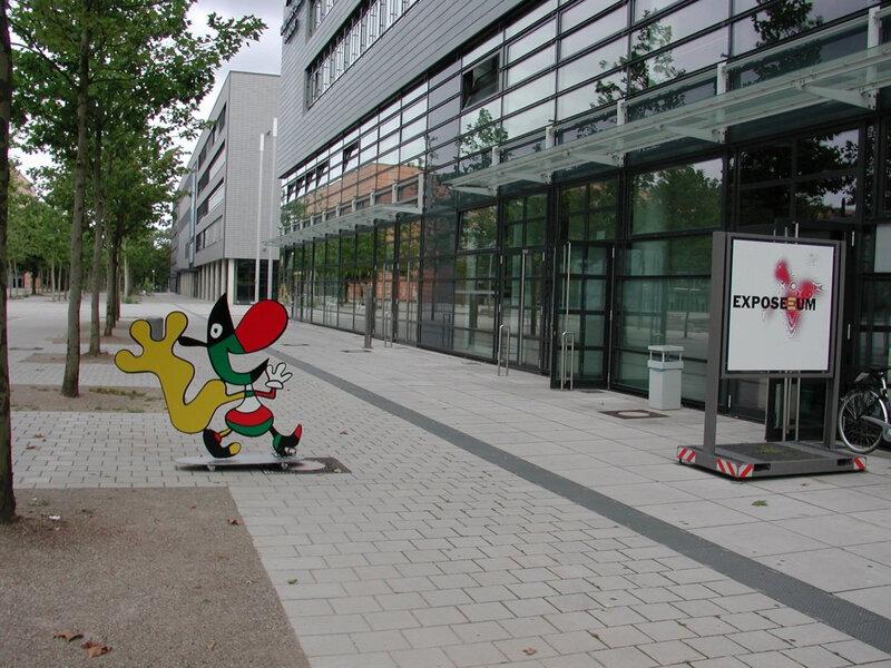 Eingang Exposeeum