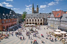Marktplatz Goslar   GOSLAR marketing gmbh  Stefan Schiefer