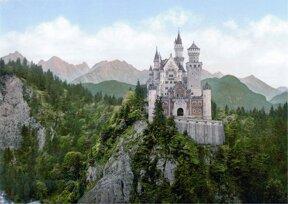 Schloss Neuschwanstein außen
