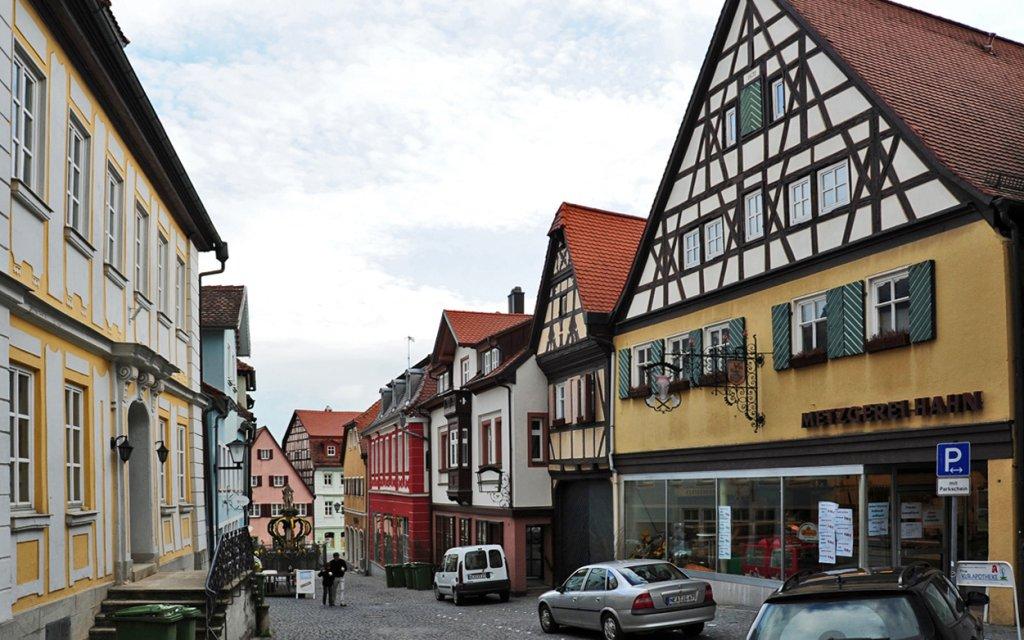 Fachwerkhäuser in Bad Windsheim