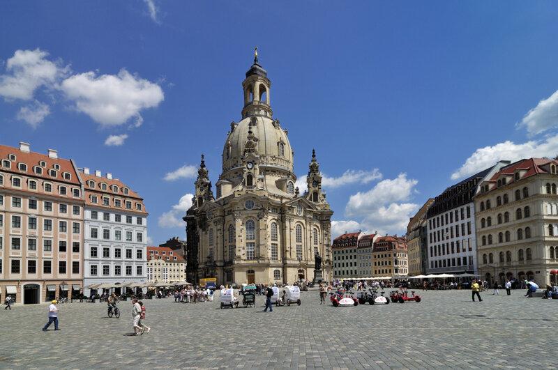 Frauenkirche Dresden Außenansicht