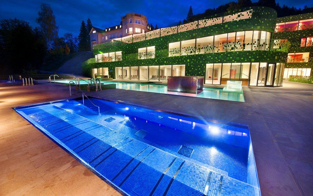Rimske Toplice Rimske Terme Pool aussen Außenansicht
