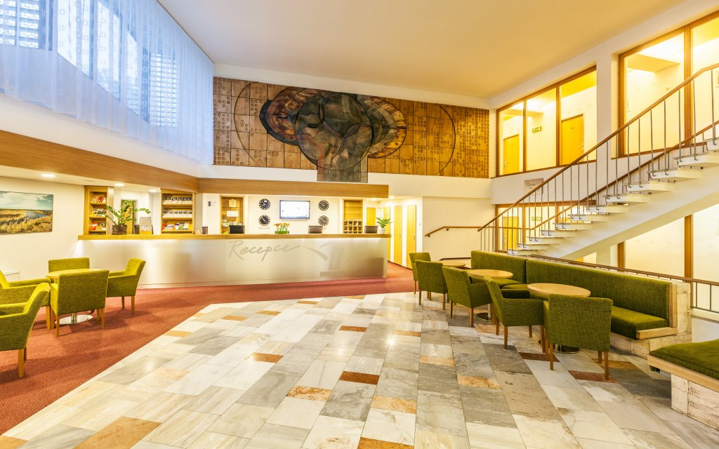 Pec pod Snežkou Hotel Horizont Lobby Rezeption