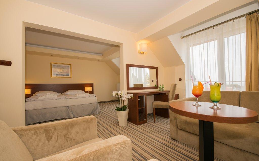 Jershöft Hotel Krol Plaza SPA Zimmer Doppelzimmer