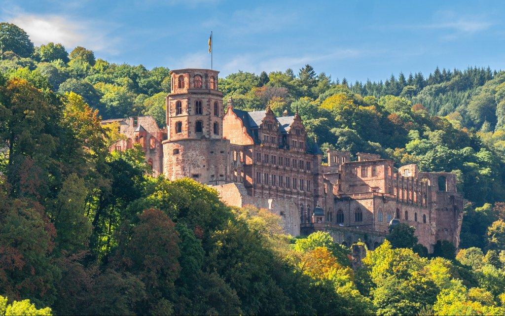 Heidelberger Schloss in Heidelberg