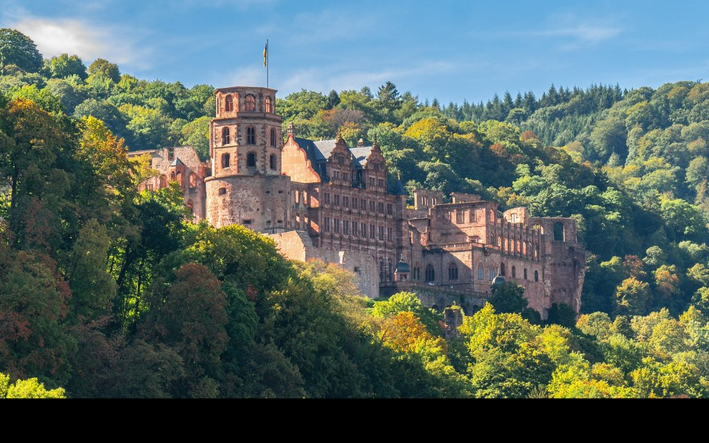 Heidelberger Schloss in Heidelberg