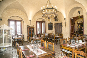 Chateau Zbiroh-Restaurant