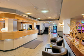 Best Western Cologne Airport Troisdorf Rezeption