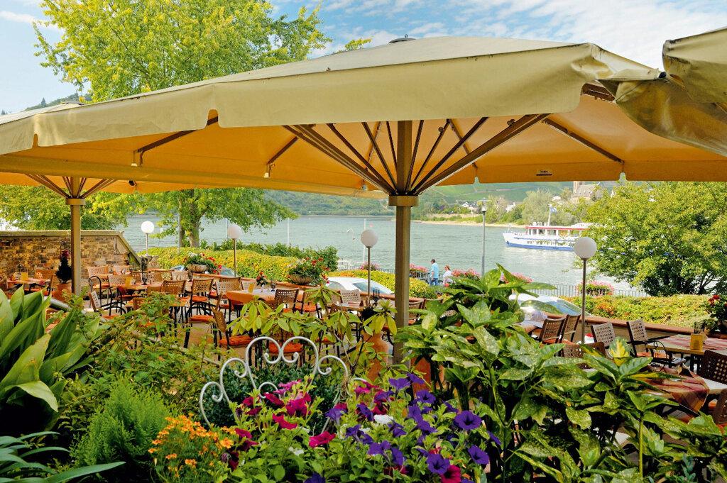 Boppard Hotel Ebertor Rheinterrase