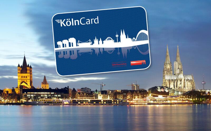 Köln-Panorama mit KölnCard