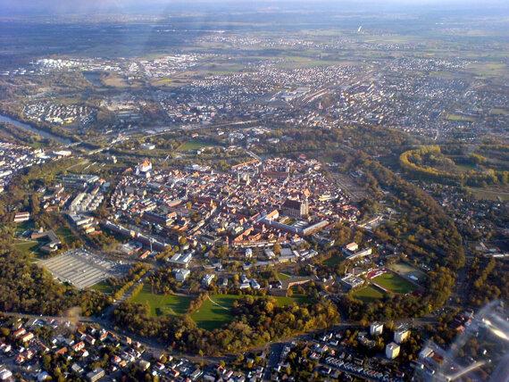 Altstadt Luftaufnahme