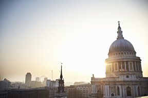 One New Change shopping centre roof with St Paul's © Cultura Creative 2012London and Partners