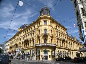 Palais Kfm. Verein aussen c TV Linz Helmut Schmid