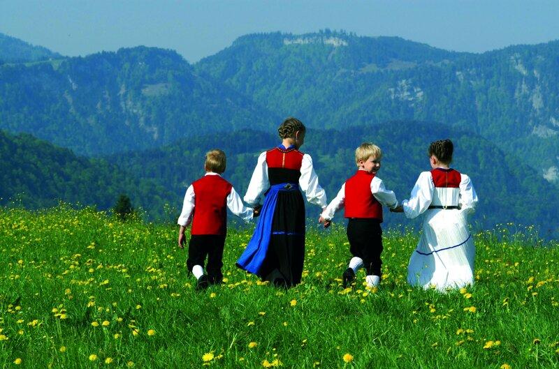 Bregenderwälder Kindertrachtengruppe