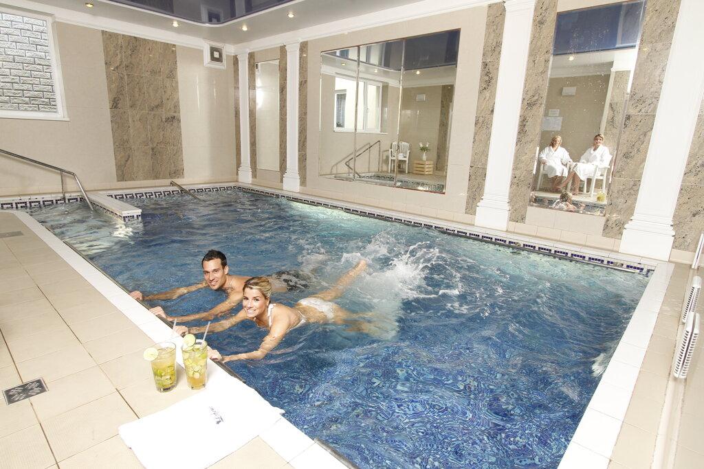 Karlsbad Hotel Lafonte Schwimmbad Pool