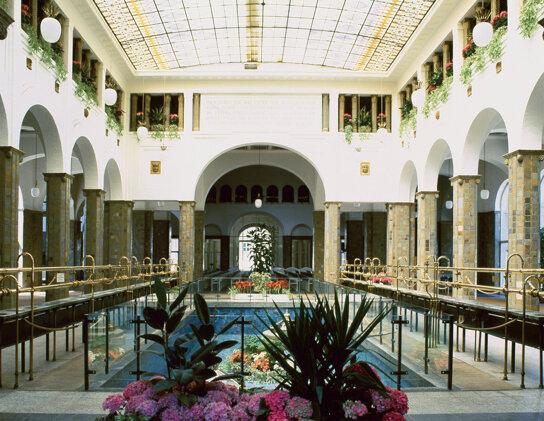 Brunnenhalle c Bad Kissingen
