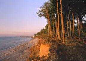 Strand Heiligendamm Abendsonne