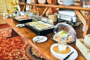 Frühstück- Chateau Kynsperk