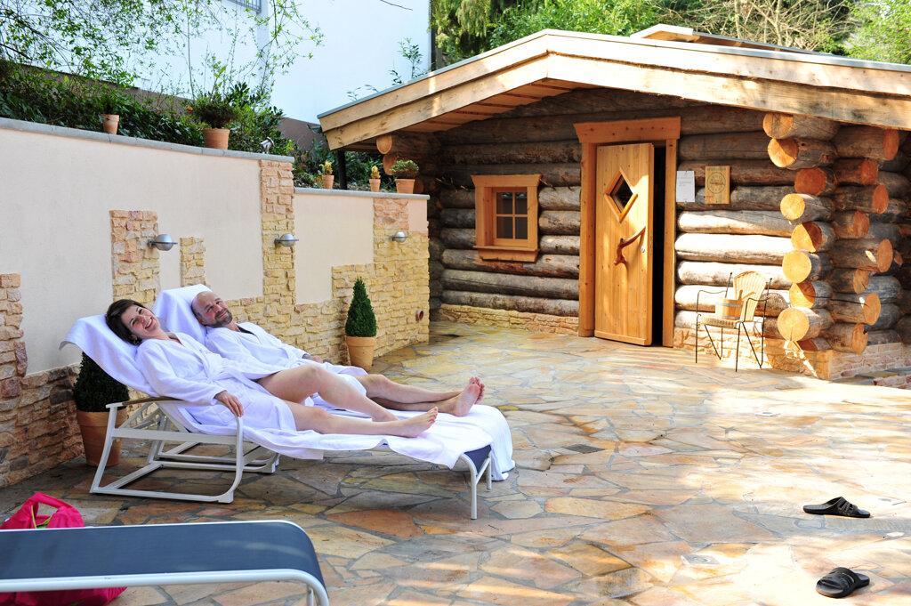 Fini-Resort Badenweiler finnische Sauna Ruhebereich