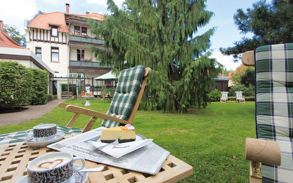 Bad Harzburg Vitalhotel am Stadtpark Garten