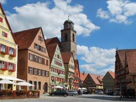 Dinkelsbühl Weinmarkt mit Münster
