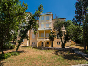 Villa Ruzica aussen Hinten