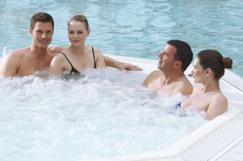 Whirlpool in der Kristall-Therme Seelze