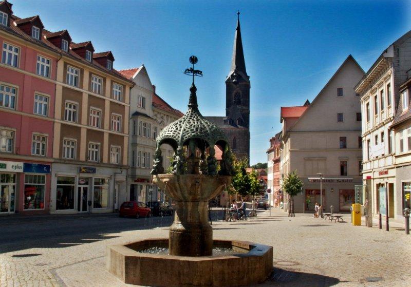 Marktplatz Aschersleben