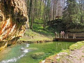 Flusslauf im Müllerthal