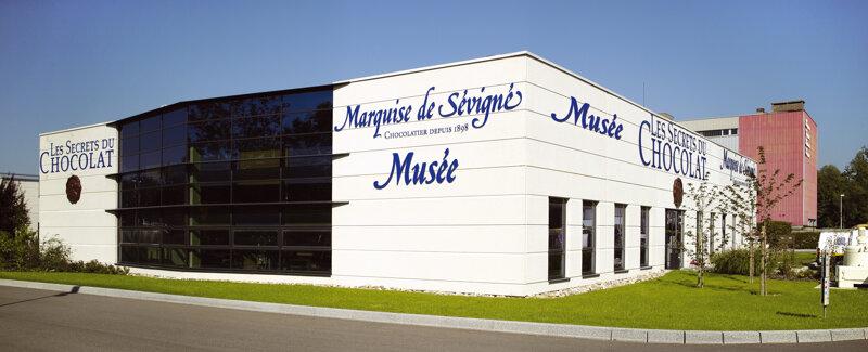 Außenansicht Schokoladenmuseum Straßburg