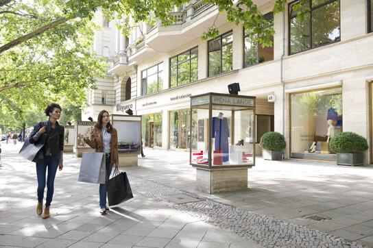 Shopping am Kurfürstendamm c visitBerlin Philip Koschel