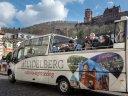 Schlossbesuch und Cabriofahrt in Heidelberg