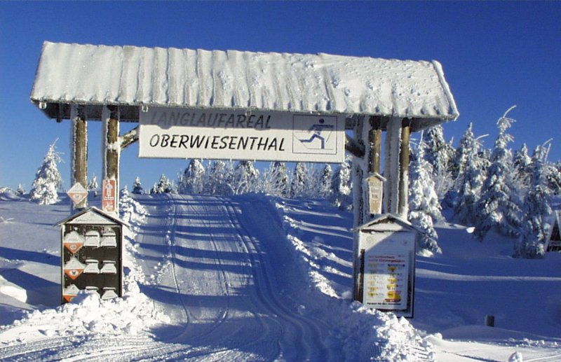 Loipentor Oberwiesenthal