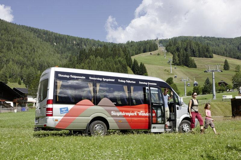 Biosphaerenparkbus in Bad Kleinkirchheim