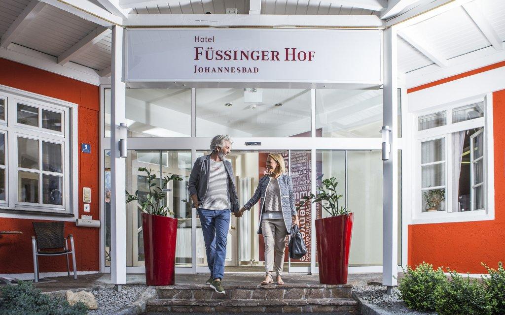Bad Füssing Johannesbad Hotel Füssinger Hof Eingang