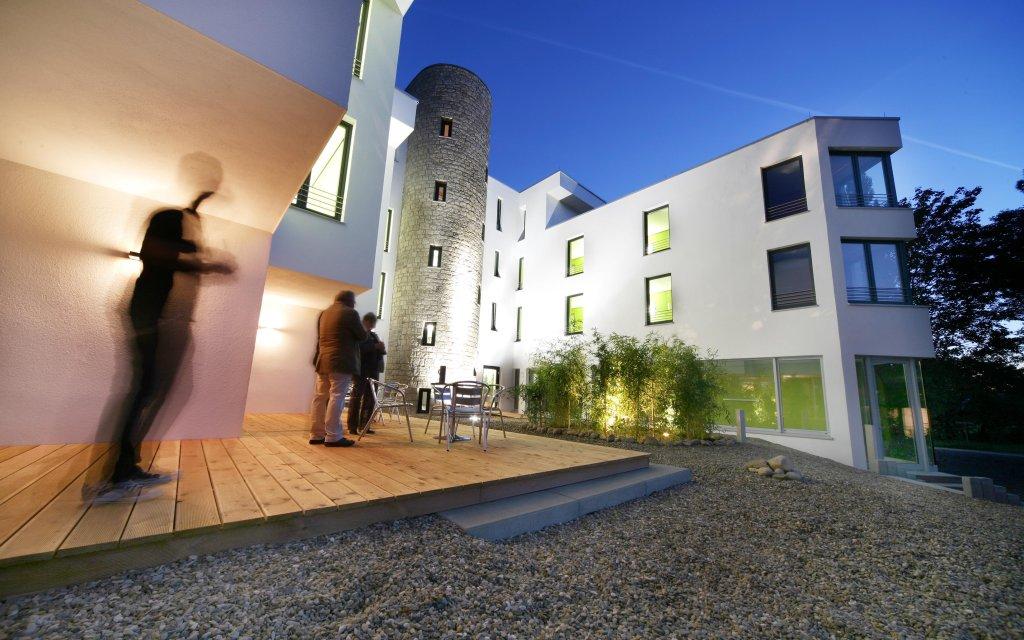 Elfershausen Hotel Ullrich Außenansicht aussen