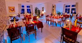 Restaurant Sofija Kerzenlicht