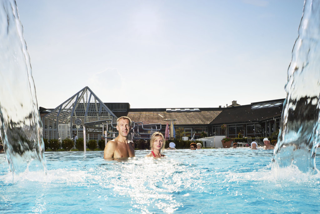 Pärchen in der Limes Therme Bad Gögging
