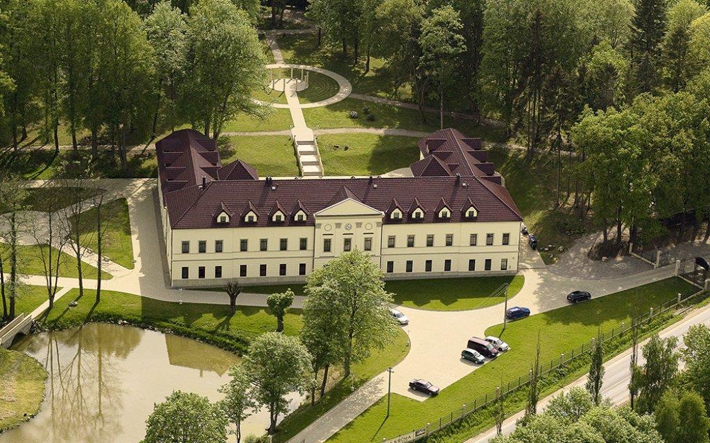 Chateau Kynsperk von oben