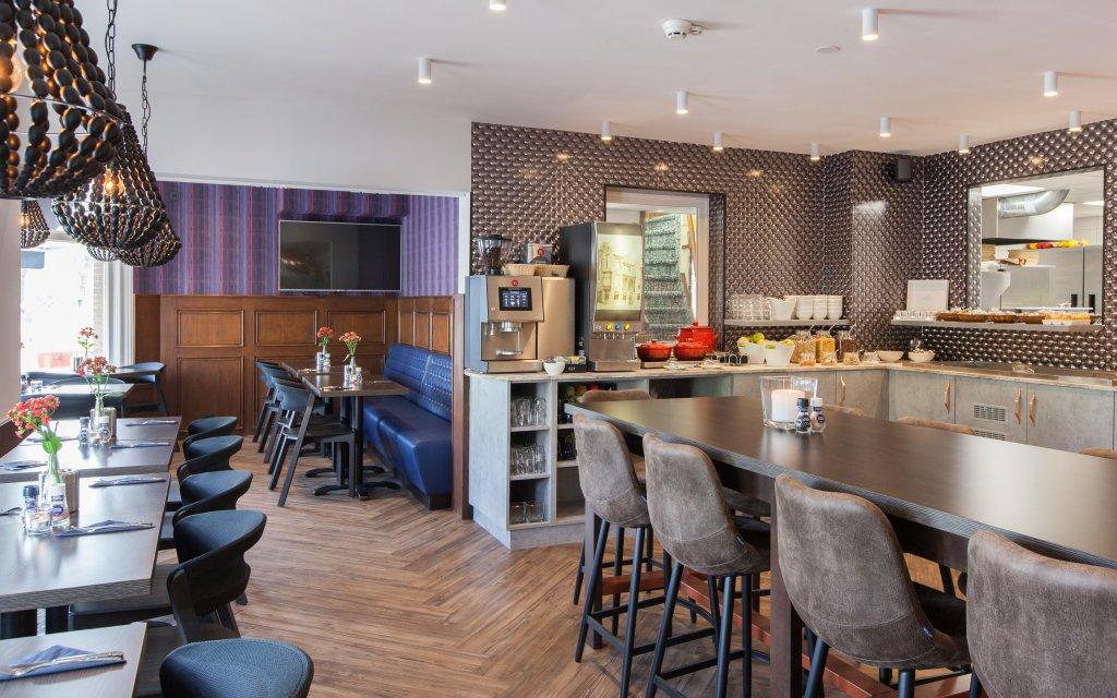 Best Western Den Haag Lounge Frühstücksraum