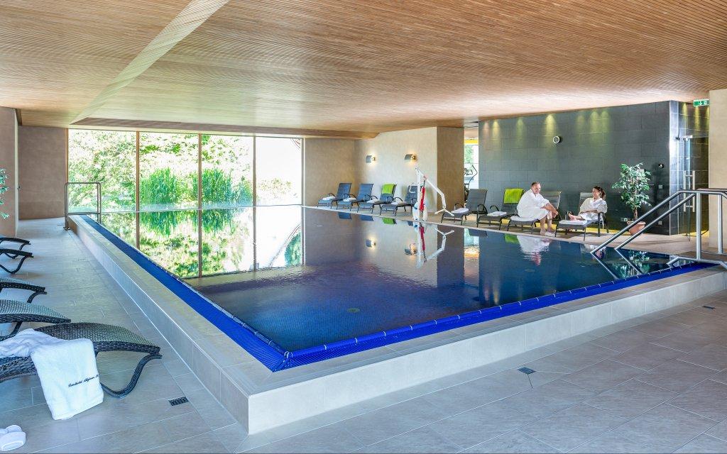 Wolfegg Landhotel Allgäuer Hof Pool Hallenbad
