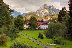 Blick Park Tegelberg