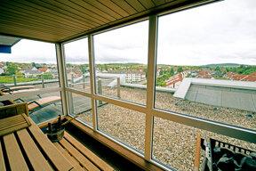 Sauna Panoramablick