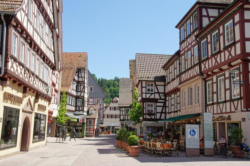 Marktstraße Calw C Stadt Calw